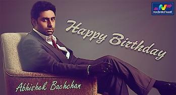 Wishing the great actor, producer, playback singer, most Stunning, Stylish and great human being a very Happy Birthday.  #HappyBirthdayAbhishekBachchan 🎈🎀🎊🎉 #HappyBirthday #birthdayboy #Birthdaywish #Bollywood #BollywoodActor #BollywoodCelebs #bollywoodupdates #HappyBirthdayAB #AbhishekBachchan 🎂🎂#JuniorBachchan #AB #HiddenSinger #Birthday2019 #Actor #IndianFilms #GodBlessYou #Love #BestWishes #Proud #BestHealth #Celebration #dhoomseries #dhoom #dhoom2 #dhoom3 #jhoombarabarjhoom #manmarziyaan #run #guru #players #movies #aishwaryarai #amitabhbachchan #jayabachchan #Nashikfame #Nashik #Nasik
