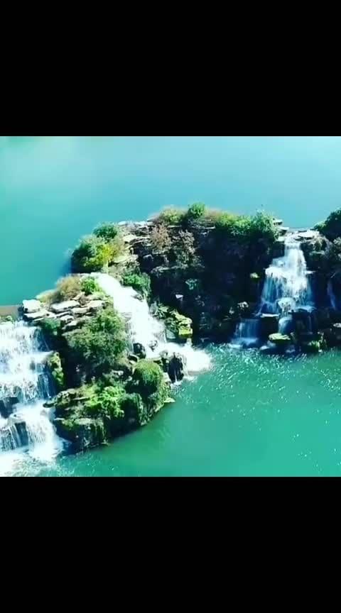#wow #amazing-waterfalls #Beautiful-nature