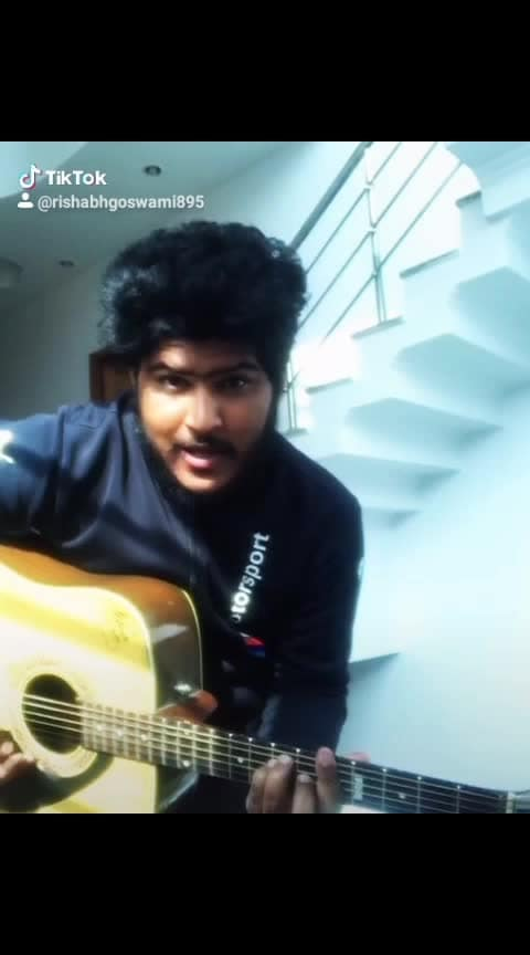 ajab si -om shanti om #indiansingers #bollywoodsongs #roposo-hindi #1millionviews #guitar #talenthunt