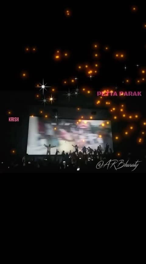 #petta #25 th #day #mass #celebrate #chennai #rohini #theatre #karthicksubburaj #anirudh #danceing