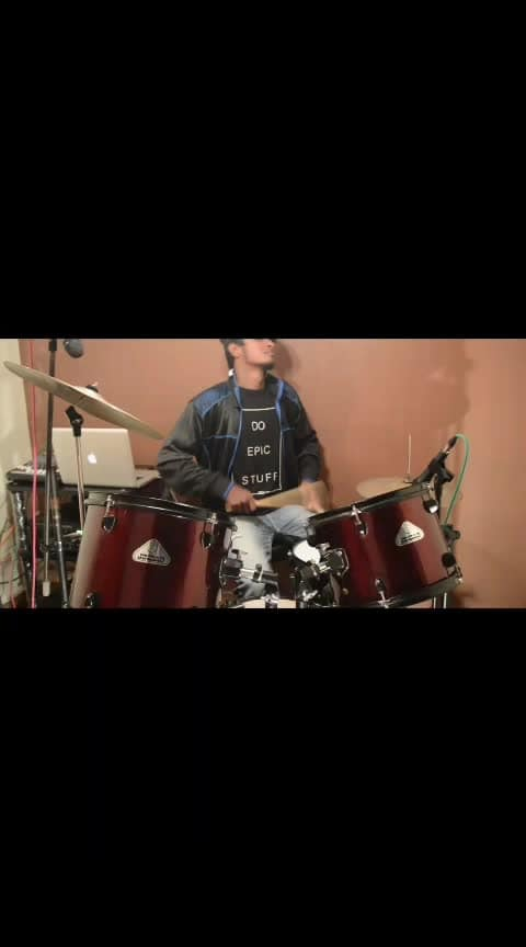 #roposo-music #drums-of-heaven #drummer #in-love- #ropo-music