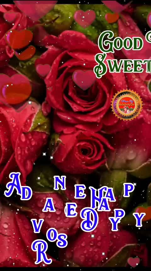 Advance Happy Rose day Good Night Sweet Dreams #happyroseday #roposogoodnight ##roposopwishes #roposovalentinesday #roposotelugu #roposolovesong