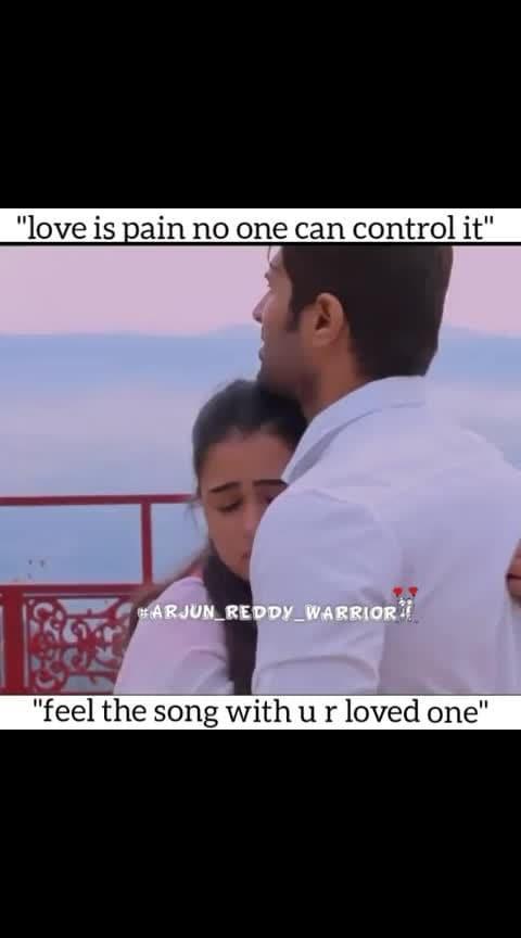 #arjunreddy #vijayadevarakonda #shalinipandey #loveness