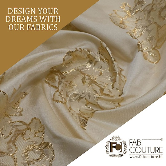 Design your dreams with our Fabric!!!!!!!  For shopping visit us : www.fabcouture.in #SantoshyShetty #JuhiGodambe #MasoomMinawala #riyajain #KomalPandey #shereenlovebug #AashnaShroff #KritikaKhurana  #FabCouture! #DesignerFabric #AffordablePrices #DesignerDresses #Fabric #Fashion #DesignerWear #ModernWomen #DesiLook #Embroidered #WeddingFashion #EthnicAttire #WesternLook #affordablefashion #GreatDesignsStartwithGreatFabrics #LightnBrightColors #StandApartfromtheCrowd #EmbroideredFabrics