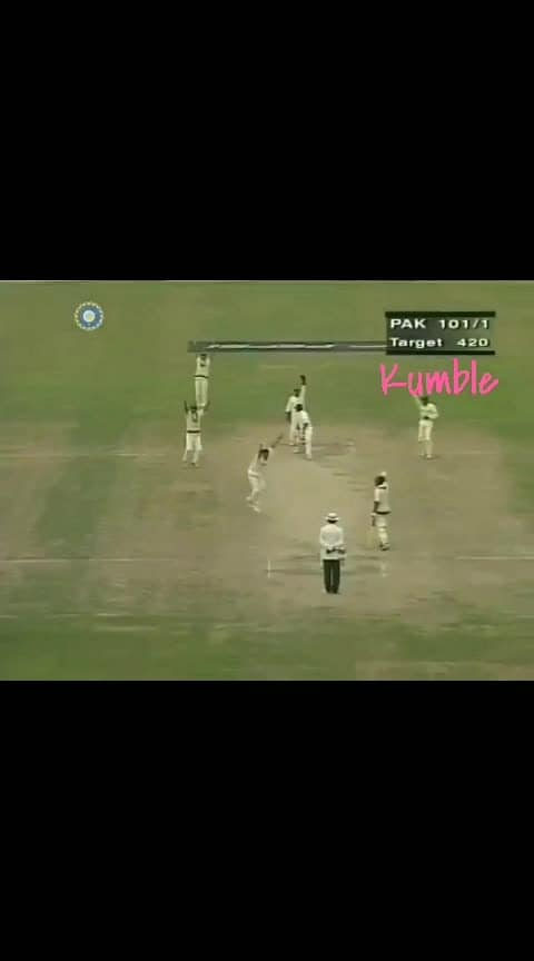 On this day in 1999,10 wickets for #anilkumble Against #pak ✌🤘#india
