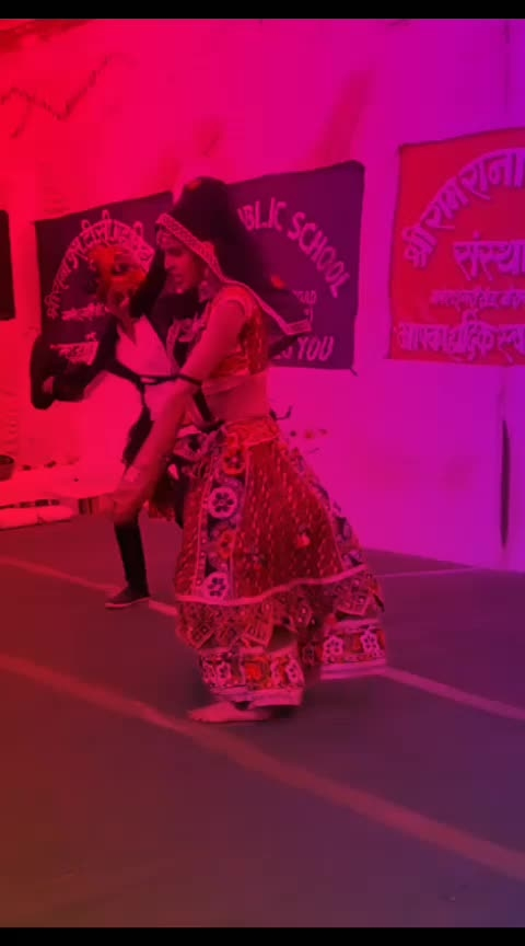 follow me #desi-dance #rajasthanistyle #roposo-beats #wow-nice-view
