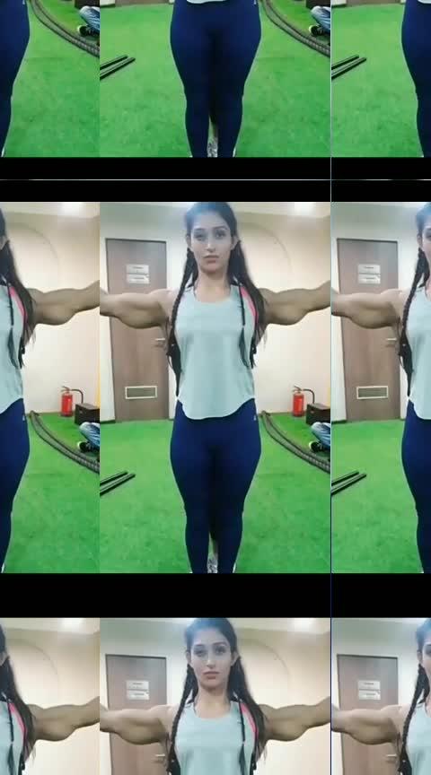 dekhi hai aisi body?  #fitnessfun #gymfun #bicepsworkout #bisceps #fitnessmotivation #fitnessblogger
