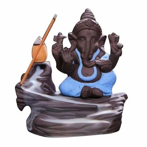 PCM BIOTECH Backflow Incense Burner Lord Ganesh with Free 10 Backflow Cones (Blue)  Package contents: - 1 Backflow Incense Holder with 10 Scented Backflow Cone Incenses Product dimension in cm (L*B*H) :- 8 x 8 x 12, material :- ceramic Care instructions :-gentle wash, use dry/wet cotton cloth to remove dirt We have also add a vassle from which the cone will not directly heat the outer material of the products, the cones will heat the vassle and prevent the affect to caused the outer material. Incense burners are ideal for burning your favorite incenses while providing a decorative accent to any space. Suitable for the study, bedroom, yoga studio. Place them on your desk, table, or ideally, on an alter stand  Buy Now :- https://amzn.to/2HUW82w   #incense #incenseburner #burner #ganeshaburner #shampoo #conditioner #beauty #beautyproducts #shampoocombo