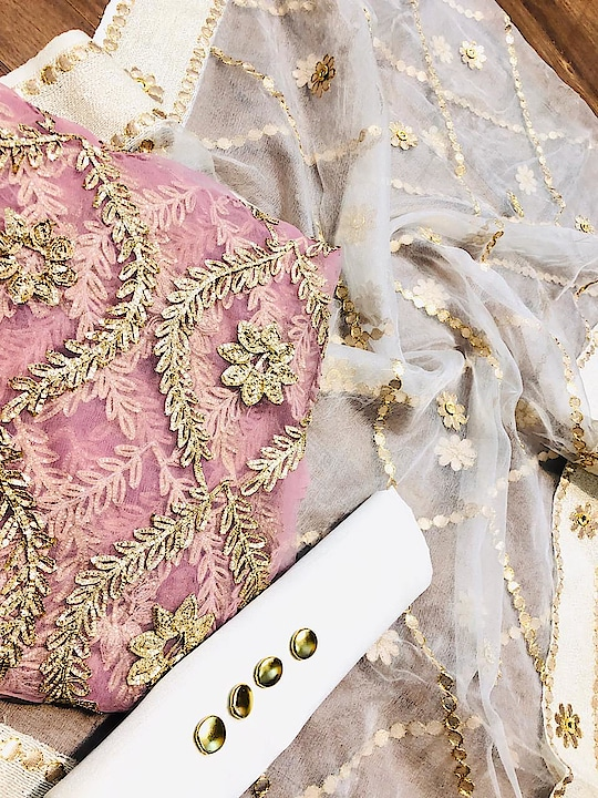 Beautiful suits soft net gotta embroidered (front & back same embroidery)& silk bottom with accessories. soft gotta embroidery designer Dupatta  Price:- 3100/- To Order WhatsApp us (+91) 8097909000 * * * * #salwar #salwarsuits #dress #dresses #longsuits #Pakistanisuits #suitsonline #embroidered #onlinefloralsuit #floral #printedsuits #printed #straightsuits #dupatta #designerdupatta