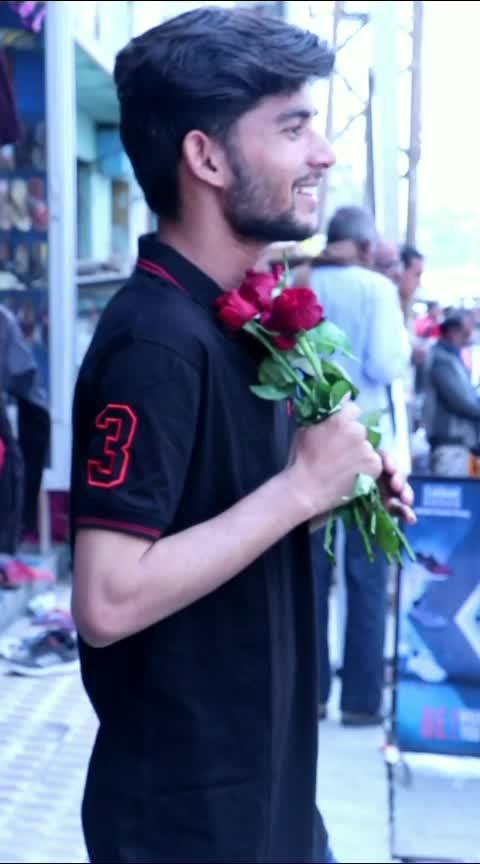 dil tenu sabha rahata chete karta #roseday2018 #red-rose #rosewater #rose