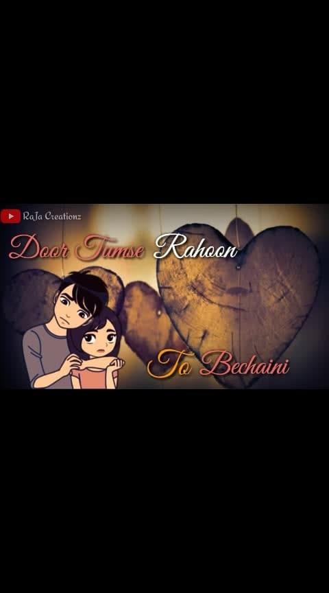 Tumse milne Ko Dil Karta Hai #hindistatus #hindistatusvideo #whatsappvideostatus #2019 #roposo-hindi #hindilovestatus #love-hindi #love #loveness #romanticstatus #roposo-trendings #roposotrends #love-status-roposo-beats #in-love  #whatsappvideostatus