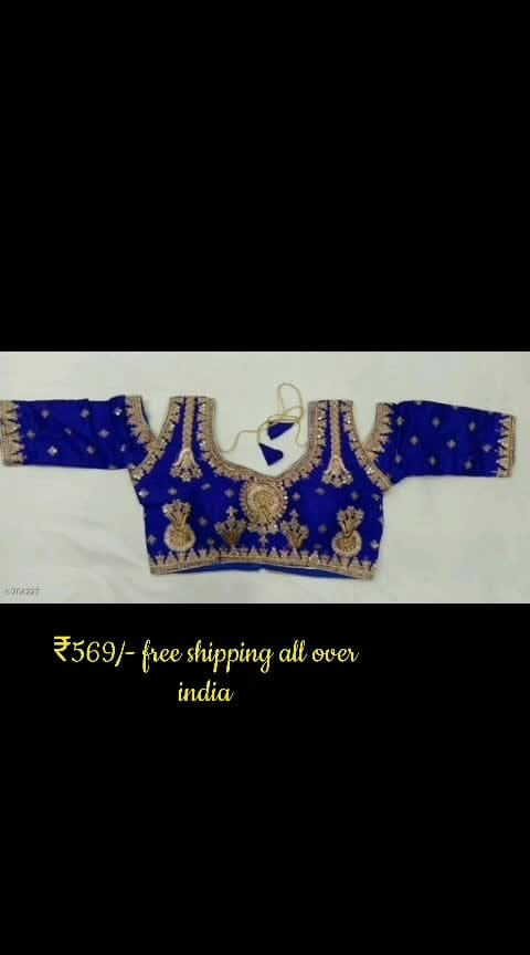 #roposo #buyonlineshop #blouse #sale #ropososhopping #cashondeliveryalloverindia #shopping  #wao #thebazaar #lookgoodfeelgood #beats #fashion #women-fashion #roposostar