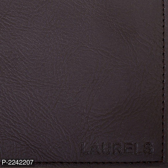 Brown Color Casual Men's Wallet  @ 323.00/-  Color: Brown Type: Long Length Style: Textured Design Type: Two Fold Wallet Material: Artificial Leather Length: 5.0 (in inches) Width: 5.0 (in inches)  Product Description 2 Currency Note Slot; 6 Card Slot