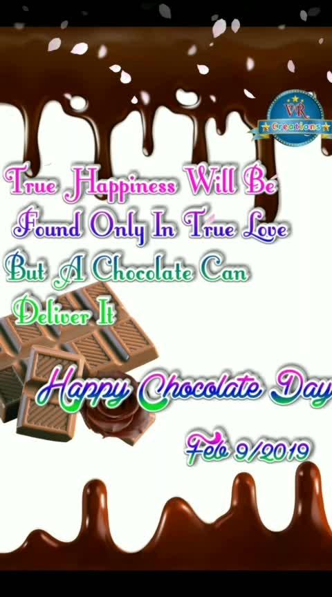#chocolateday2019 #roposovalentinesday #roposotelugu