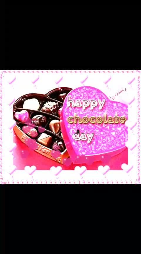 #happychocolatedayroposo