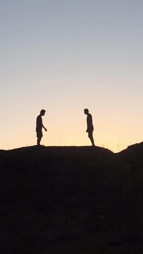 Amazing shadow backflip with bro @roposocontests @roposotalks #flip #backflip #flipper #dance #cancer