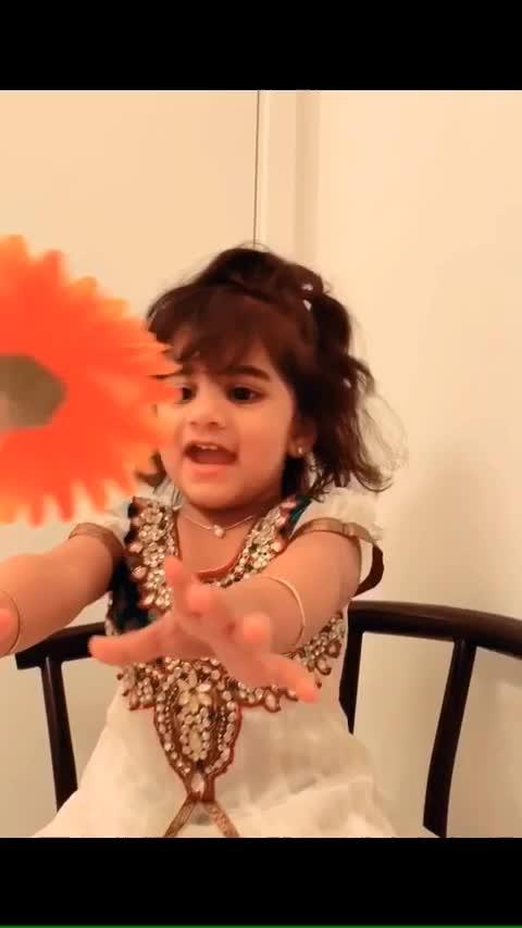 My love😍 #roposo #roposo-tv #roposochannel #kids #toddlerofinstagram #toddler #happykid