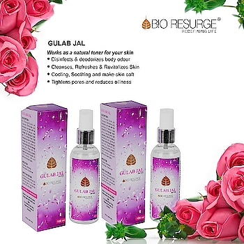 Natural Gulab Jal is the extract of real roses petals, moistens and Nourishes your skin like never before. Shop Now : http://bioresurge.in/products/gulab-jal.html No MINIMUM PURCHASE required! Last Chance to Grab Best Deal on 799 and 1499 | Get Flat 10% and 15% OFF. Free Shipping........... #bioresurge #amazon #chemicalfreeskincare #pure #naturalsmile #ayurveda #organic #life #fashion #lifestyle #love #smile #beauty #healthy #naturalskincare #Mumbai #Delhi #Chennai #Kolkata #UttarPradesh #ncr #moisturizingcream #facepack #antiwrinkle #AdvancedAyurveda #ValentinesDay #Love
