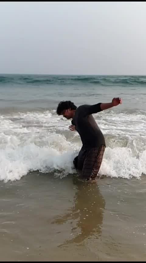 @raviba1a4c9d #slowmotion #vizag #mycity #beachlove