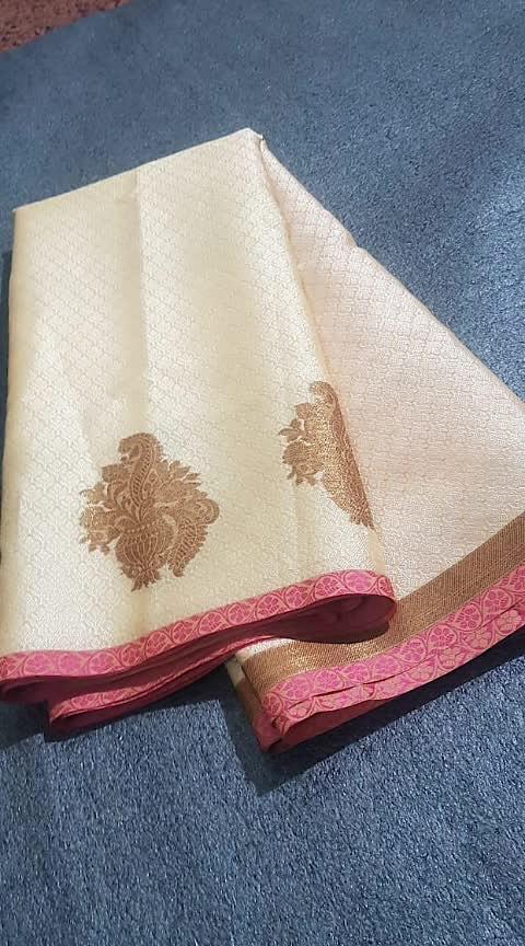 Banarasi Kora Muslin Sarees  Price 1600/-