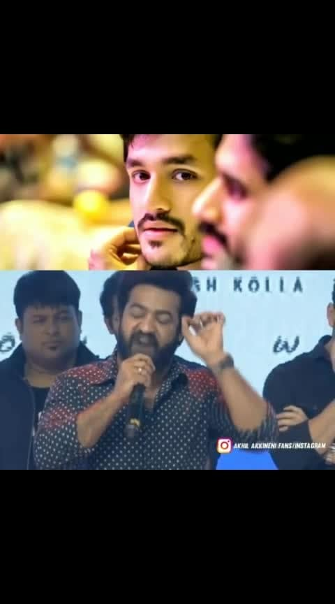 Akhil will be one of the finest actor's one day.... - #jrntr about #akhilakkineni #trendying #roposostars