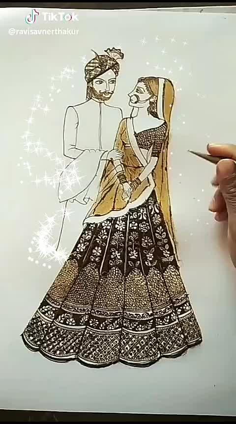 #mytalent #roposo #indian-mehndi #brides