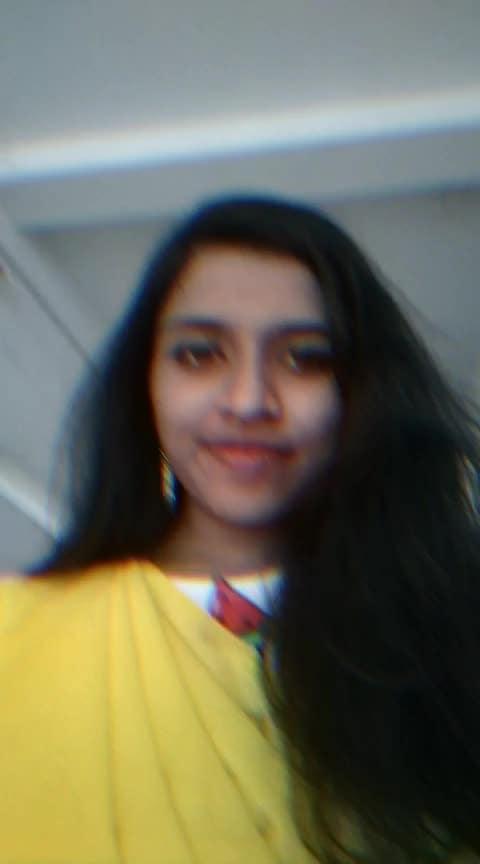 🌻 #fashion  #love #yellow #saree #festivalsaree #festivewear #season #ropo-love #ro-po-so #roposostars #ladies