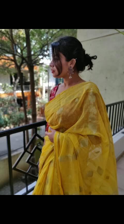 Saraswati pujo #2019... #roposolife#roposoers#roposopost#ropososareetrend#ropososaraswatipujo2019#roposolove