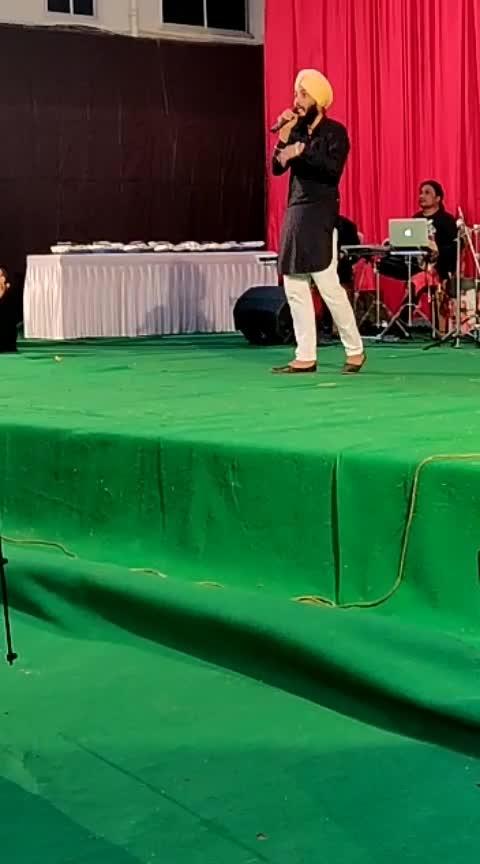 Tum jo aaye❤ @theparassethi @roposotalks  #indiansingers #mumbai #live #performance #gig #college #reunion