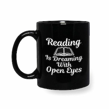 Reading is Dreaming with Open Eyes motivational coffee mug @ Rs. 299/- . 🔸Free Shipping 🔸Cod available 🔸 For bulk order and corporate gifting contact us on 8850173581. #motivational #reading #printed #studymotivational #hot #coffeemug #offerskraft #shoponline #onlineshopping #buyonline #corporategifting #customizegifting #gift #giftideas #giftforstudents #giftforfriend