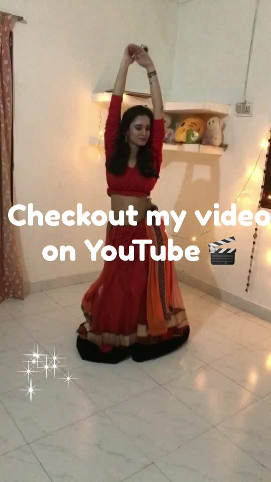 Hey guys checkout my YouTube video here https://youtu.be/7Gi4k2JS0iY n don't forget to like, share, and subscribe..☺️ #dance #bollywood #bellydancing #youtuber #roposo