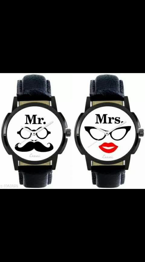 Trendy Couple Wrist Watches Material: Leather Size: Free Size Description: It has 2 Pieces of Wrist Watches #couplewatch #couplewatches #leather #setof2 #shopping #shopwithus #buyitnow #thebazaar #cashondelivery #followusonroposo