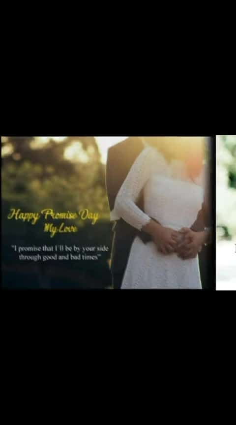 #wow-nice-view Happypromise day my love...