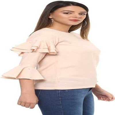 Casual Bell Sleeve Solid Women's Beige Top  You can wear this top in any occasion such as office, date,Party,Regular,daily life or travel and is suitable for daily wear in all seasons.This top can be teamed with anything you want,it can be a trouser,skirt,shorts.Washcare: Hand Wash with Warm Water, wash dark colors separately, Do not Bleach, Dip Dry away from direct heat, Warm Iron Only  This beautiful top is from the house of ITRRA. For purchashing it just click on the link #top #womentop #topforwomen #partytop #latesttop #casualtop #bellsleevetop  https://www.flipkart.com/itrra-casual-bell-sleeve-solid-women-s-beige-top/p/itmf7r9vfvbpeyhw?pid=TOPF7R8YFRD7WK4D