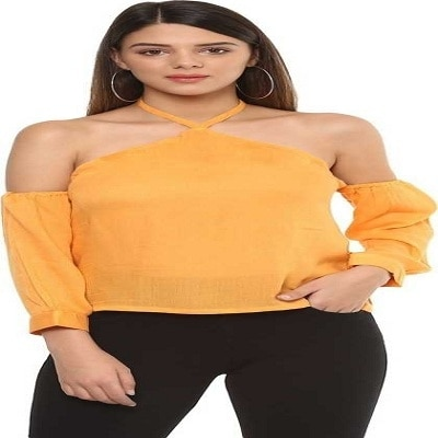 Party Shoulder Strap Solid, Stylised Women's Yellow Top   You can wear this top in any occasion such as office, date,Party,Regular,daily life or travel and is suitable for daily wear in all seasons.This top can be teamed with anything you want,it can be a trouser,skirt,shorts.Washcare: Hand Wash with Warm Water, wash dark colors separately, Do not Bleach, Dip Dry away from direct heat, Warm Iron Only  This beautiful top is from the house of ITRRA. For purchashing it just click on the link #top #womentop #topforwomen #partytop #latesttop #casualtop #bellsleevetop  https://www.flipkart.com/itrra-party-shoulder-strap-solid-stylised-women-s-yellow-top/p/itmf7fpzymh3bnkw?pid=TOPF7YTFXQ5DZEVH