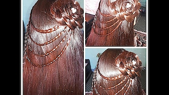 party hairstyle 2019 for young girls #hairstyle #hairstylesforgirls #partywear #smartlook #juda