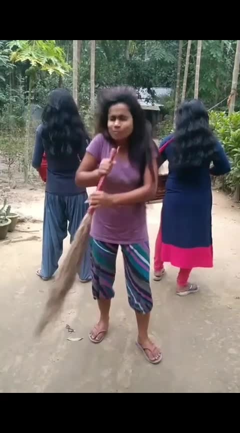 Song with Jharu #bloom #funny #comedy #haha #song #funnysong