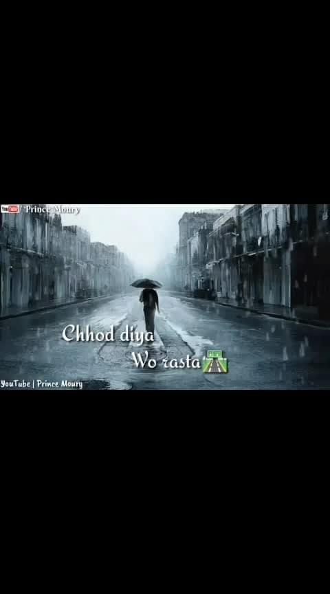 #chod_diya_wo_rastaaa #whatsappstatusvedios #ropostar #roposo-beats #beats #love-status-roposo-beats #haha-tv #solfullqutos #ropo-good #ropo-video #statusvideo-download #followformoreposts #ropo-lov