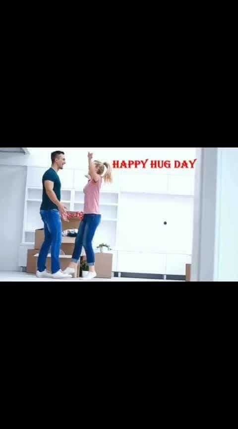 #happyhugday