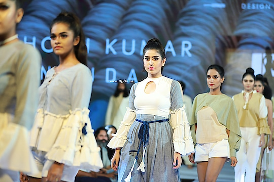 Sunanda collections from Santhosh Kumar #IFF #International_Fashion_Fest  #DrAjit_Ravi_Pegasus  #Pegasus_Global #Pegasus #SanthoshKumar