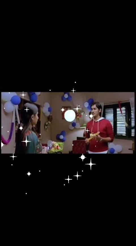 Birthday wishes #siddharth #shalini #oye