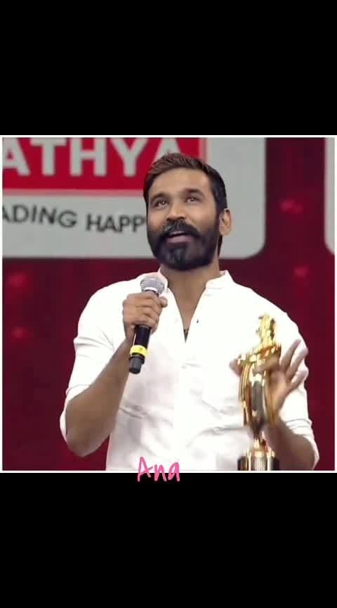 #ana #roposo-tamil #roposospring #danushspeech #danush #filmistan-channel