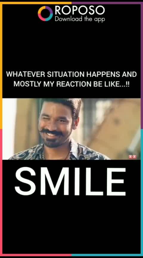 #danush #dhanush #smile #motivation #encouragement #love #dhanushfans #maari-2 #maas #roposo-cute#cutness