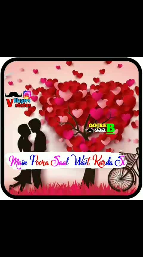 #valentines-day #valentines-day_special #status #single-status #single-status #whatsapp-status #statue #loveness #roposo-lovestatus #roposo-lovestatus #lovestatusvideo #sad_status #sadstatusvideo #sad_status #romanticstatus #emotionalstatus #top #punjabi-gabru #punjabi #punjabistatus #punjabistatusvideo