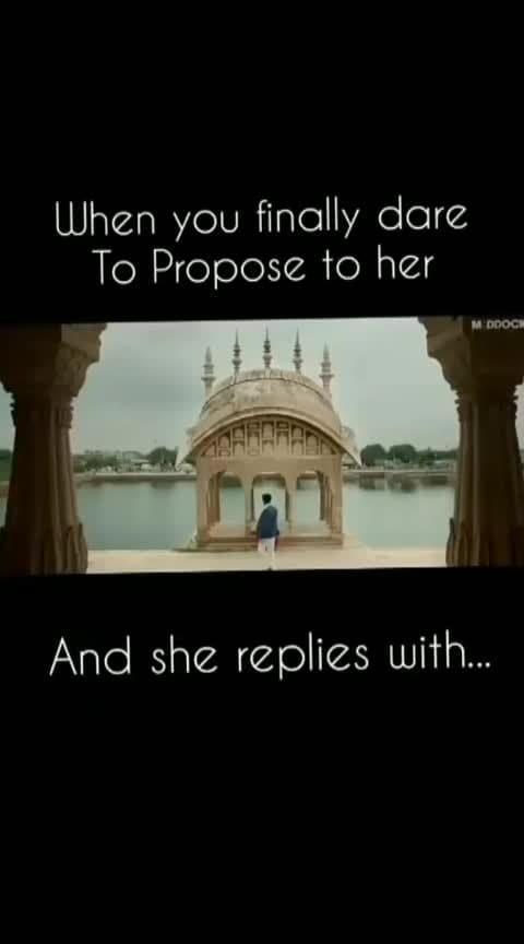 Funny Proposal #Valentine'sDay #HappyValentine'sDay #ShivaG #2k19 8529445676 7988634627