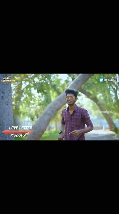 #romantic-propose #micset #sriram #sothanaigal #in-love-  #velentineday spacial