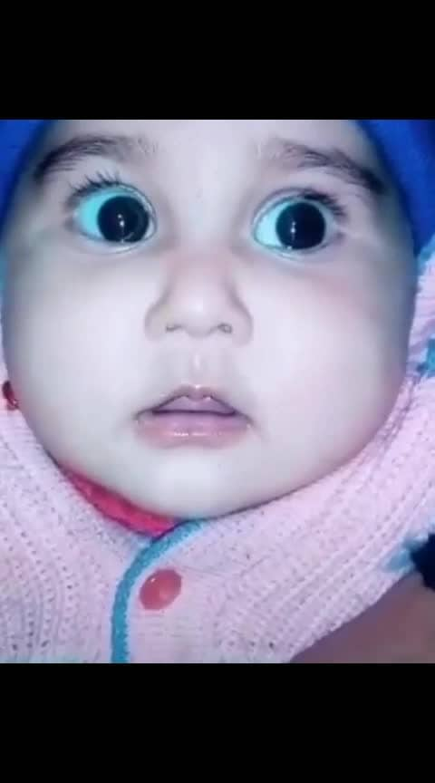 #baby #cuteness-overloaded #roposo-cute #cute #cute-baby #babypink #babygirl