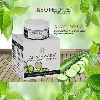 Cucumber skin cream is made with real cucumber which helps to soothe irritated skin and provide relief from sunburns. It is also useful in removing acne scars, blemishes and reduce under eye dark circles. Velvety soft and light texture, easily absorbed into your skin. Shop now on:  https://bit.ly/2N4gkxS #bioresurge #amazon #chemicalfreeskincare #pure #naturalsmile #ayurveda #organic #life #fashion #girls #lifestyle #love #smile #beauty #healthy #naturalskincare #Mumbai #Delhi #Chennai #Kolkata #UttarPradesh #ncr #moisturizingcream
