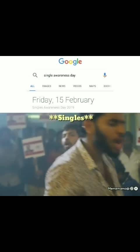 #singlesday #roposotrends singles awareness Day#feb15th #single #craziness #nikhil #deepthisunaina #roposo-dance #roposo-telugu #trendy #featuredvideo #singles