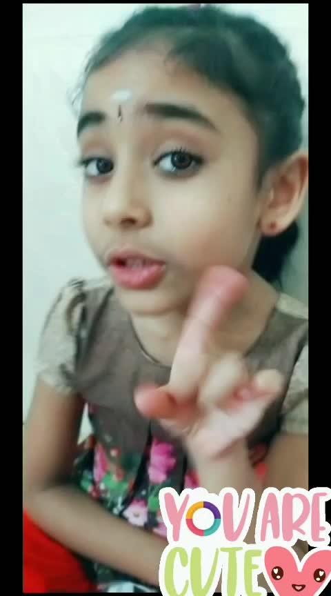 Because You are a cute baby 🤩❤😂 #chetailikeyou #malayalam #roposo-malayalam #roposo-comedy #laasya  #risingstar  #risingstaronroposo #roposostar #roposotv #girlslikeyou  #littlegirl  #happyvalentinesday #valentinesday #ilikeyou #iloveyouu #lipsync